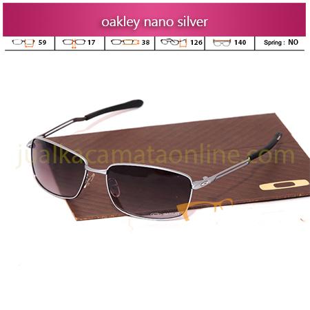 Jual Kacamata Oakley Nano Silver