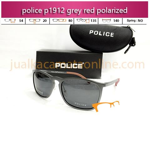 Harga Kacamata Police P1912 Grey Red Polarized