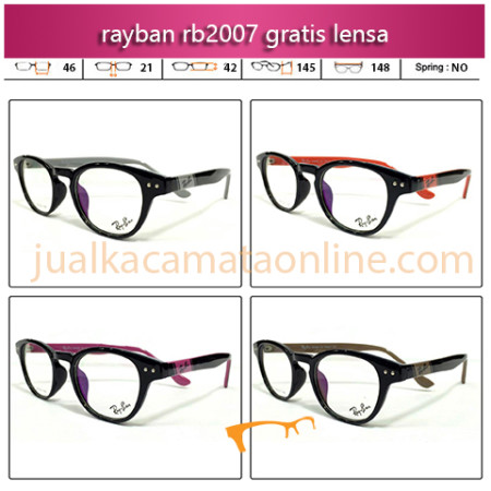 Jual Paket Kacamata Rayban 2007 Gratis Lensa