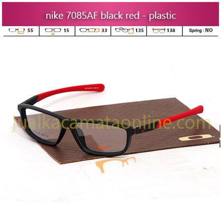 Frame Kacamata Minus Nike 7085AF Black Red