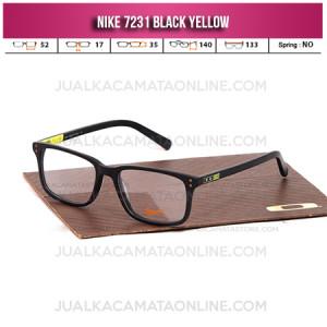 Toko Frame Kacamata Nike 7231 Black Yellow