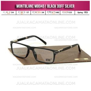 Frame Kacamata Montblanc MB0451 Black Silver