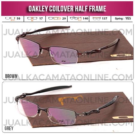 Jual Frame Kacamata Oakley Coilover Half Frame Terbaru