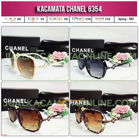 Jual Kacamata Wanita Chanel Terbaru 6354