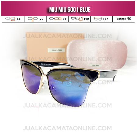 Kacamata Wanita Miu Miu 6001 Blue