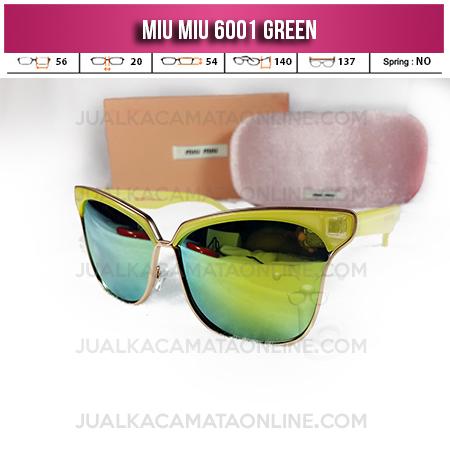 Harga Kacamata Miu Miu 6001 Green