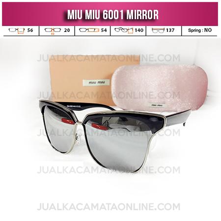Model Kacamata Terbaru Miu Miu 6001 Mirror