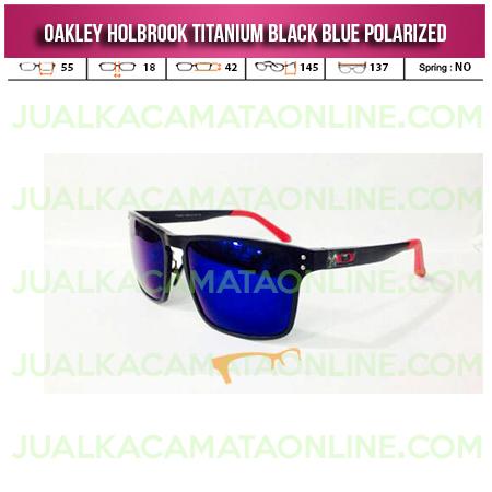 Harga Oakley Holbrook Titanium Black Blue
