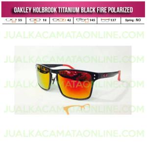 Jual Kacamata Oakley Holbrook Titanium Black Fire