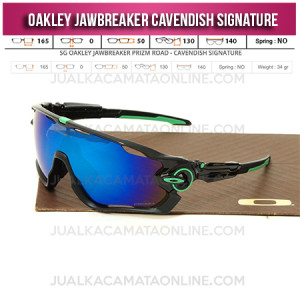 Mode Kacamata Oakley Terbaru Jawbreaker Black Blue