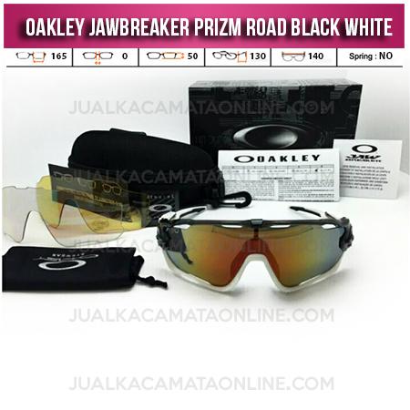 Toko Kacamata Oakley Jawbreaker Black White