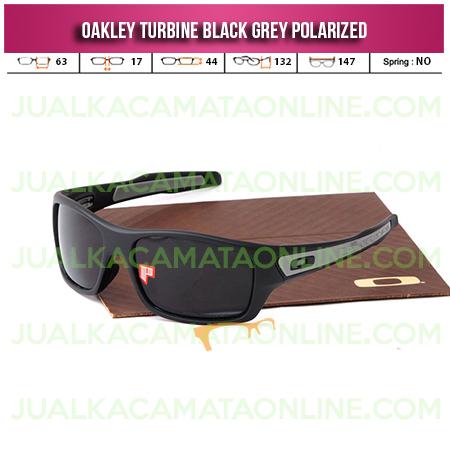 Harga Kacamata Oakley Turbine Black Grey