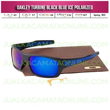 Toko Kacamata Oakley Turbine Black Ice