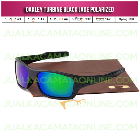 Harga Kacamata Oakley Turbine Black Emerald