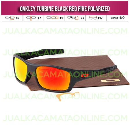 Model Kacamata Oakley Turbine Black Fire