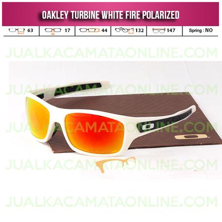 Jual Kacamata Oakley Turbine White Fire