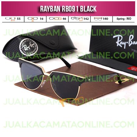 Harga Kacamata Rayban RB091 Black