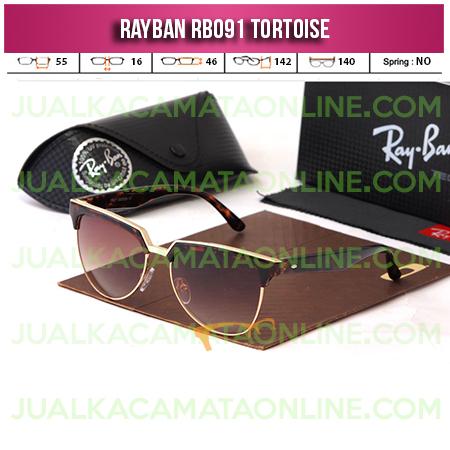 Jual Kacamata Rayban RB091 Tortoise