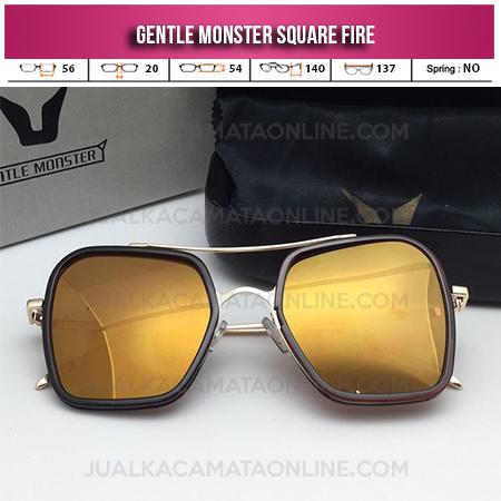 Model Terbaru Kacamata Gentle Monster Square Fire