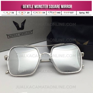 Jual Kacamata Gentle Monster Square Mirror