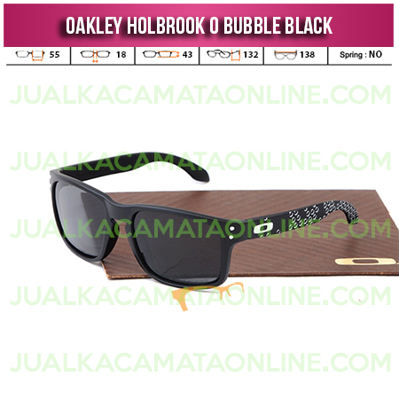 Harga Kacamata Oakley Holbrook Bubble Black Fire