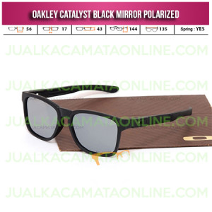 Kacamata Oakley Catalyst Black Mirror