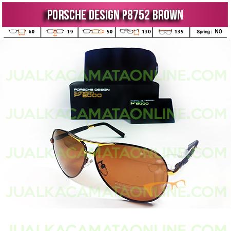 Harga Kacamata Porsche Design P8752 Brown