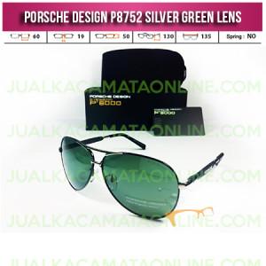 Harga Kacamata Porsche Design P8752 Silver Green