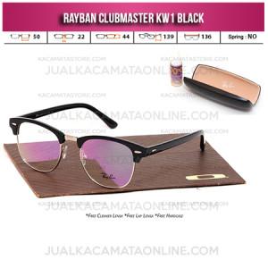 Jual Frame Kacamata Rayban Clubmaster Black