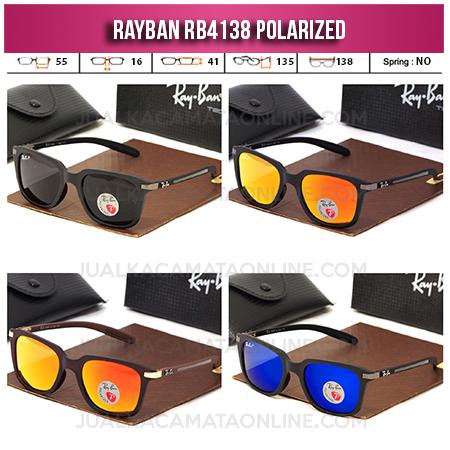 Jual Kacamata Rayban RB4138 Polarized Terbaru