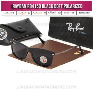 Jual Frame Kacamata Rayban RB4150 Black Doff