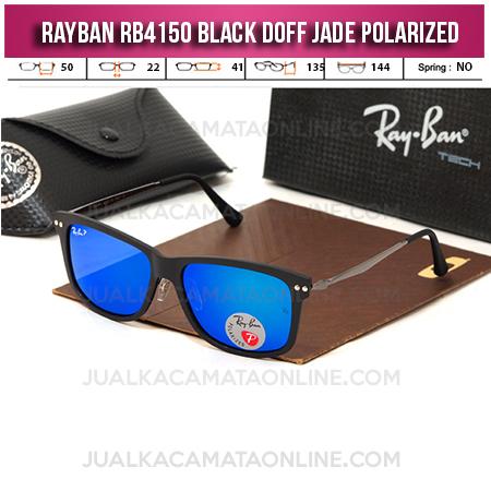 Kacamata Rayban RB4150 Black Doff Jade