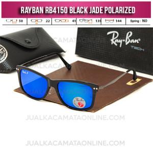 Harga Kacamata Rayban RB4150 Black Glossy Jade