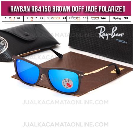 Jual Kacamata Rayban RB4150 Brown Doff Jade