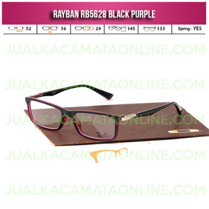 Harga Kacamata Rayban RB5628 Black Purple