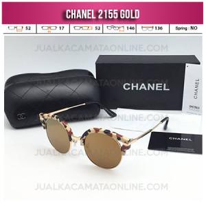 Toko Kacamata Wanita Chanel Terbaru 2155 Gold