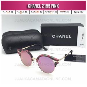 Jual Kacamata Wanita Chanel Terbaru 2155 Pink
