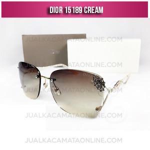 Model Kacamata Wanita Terbaru Dior 15189 Cream