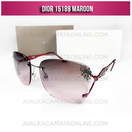 Jual Kacamata Wanita Terbaru Dior 15189 Maroon