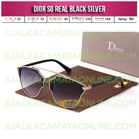 Kacamata Wanita Dior So Real Black Silver