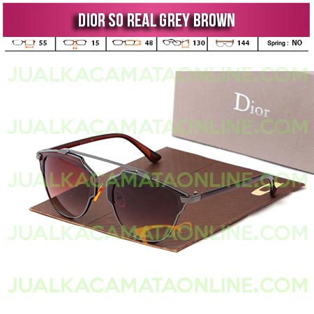 Harga Kacamata Wanita Dior So Real Grey Brown