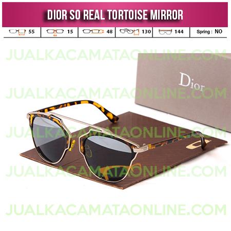 Model Kacamata Wanita Dior So Real Tortoise Mirror