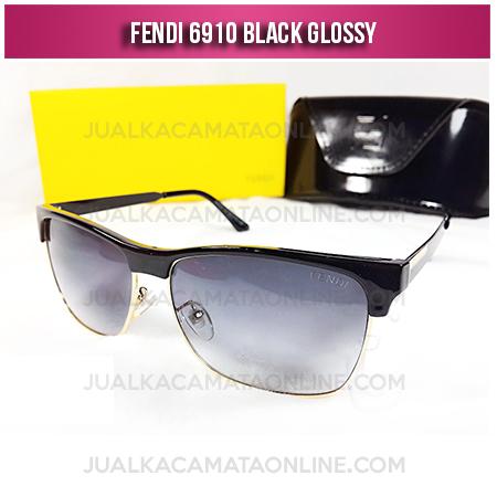 Kacamata Wanita Terbaru Fendi 6910 Black Glossy