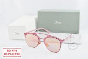 Kacamata Wanita Dior Reflected Silver Pink