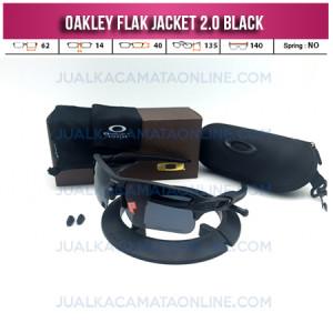 Trend Kacamata Oakley Flak Jacket 2.0 Black