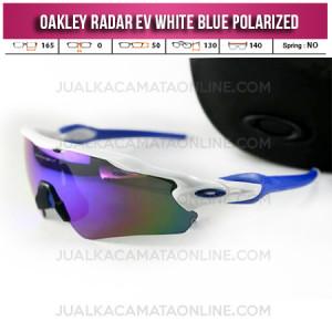 harga Kacamata Oakley Radar Evolution White Blue