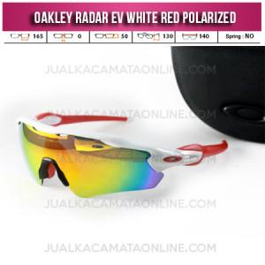 Jual Kacamata Oakley Radar Evolution White Red