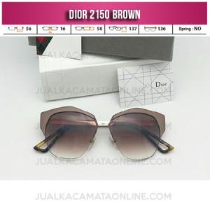 Harga Kacamata Wanita Dior 2150 Brown