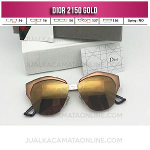 Kacamata Wanita Dior 2150 Gold