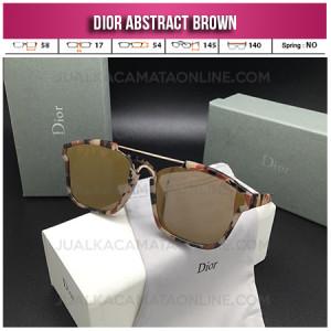 Harga Kacamata Wanita Dior Abstract Brown